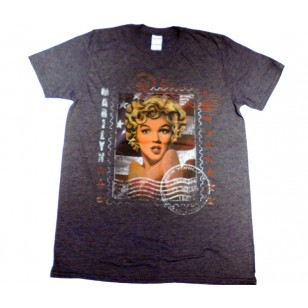 Marilyn Monroe- Stamp Fitted Jersey Movie T Shirt ( Men M, L ) ***READY TO SHIP from Hong Kong***