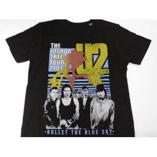 U2 - The Joshua Tree, Bullet The Blue Sky Official Fitted Jersey T Shirt ( Men L ) ***READY TO SHIP from Hong Kong***