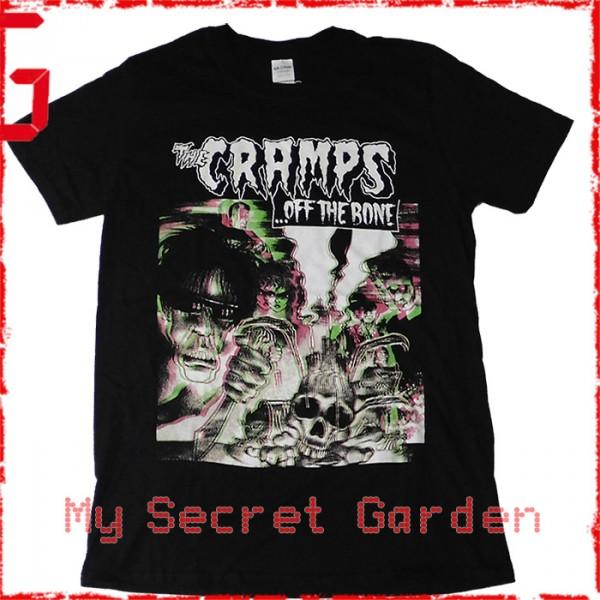 Black The Cramps Off The Bone T-Shirt