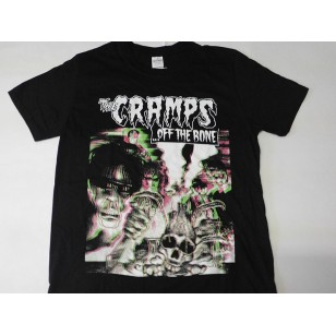 The Cramps - Off The Bone Official Fitted Jersey T Shirt ( Men M, L ) ***READY TO SHIP from Hong Kong***