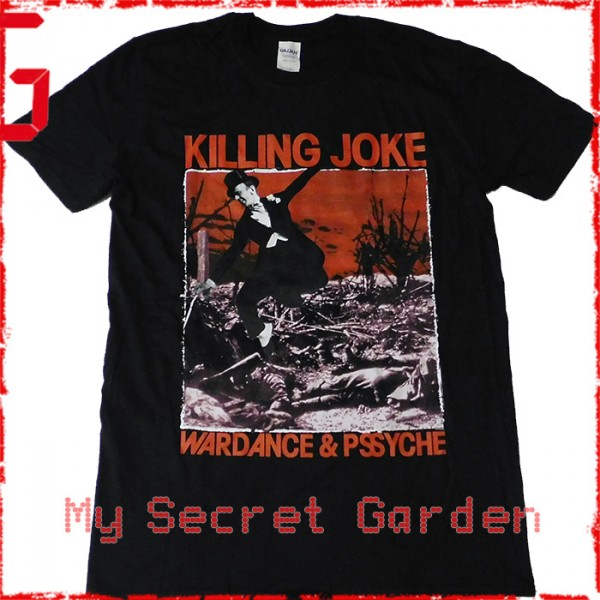 Killing Joke - Wardance / Pssyche Official Fitted Jersey T Shirt ( Men M, L ) ***READY TO SHIP from Hong Kong***