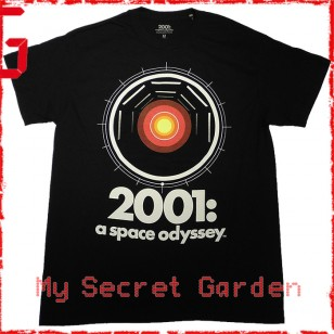 2001: A Space Odyssey - Hal 9000 Official Movie T Shirt ( Men S) ***READY TO SHIP from Hong Kong***