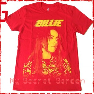 Billie Eilish - Racer Logo Jumbo Fitted Jersey T Shirt ( Men M ) ***READY TO SHIP from Hong Kong***