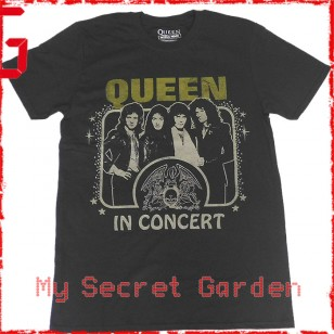 Queen - In Concert Official Fitted Jersey T Shirt ( Men M, L ) ***READY TO SHIP from Hong Kong***