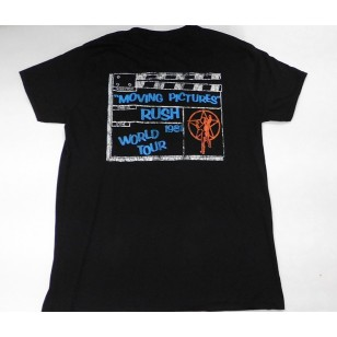 Rush - Moving Pictures 1981 Tour Official Fitted Jersey T Shirt ( Men M, L ) ***READY TO SHIP from Hong Kong***