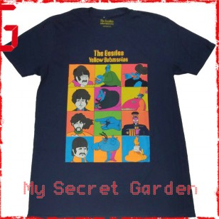 The Beatles - Yellow Submarine Official Fitted Jersey T Shirt ( Men S, M, L ) ***READY TO SHIP from Hong Kong***