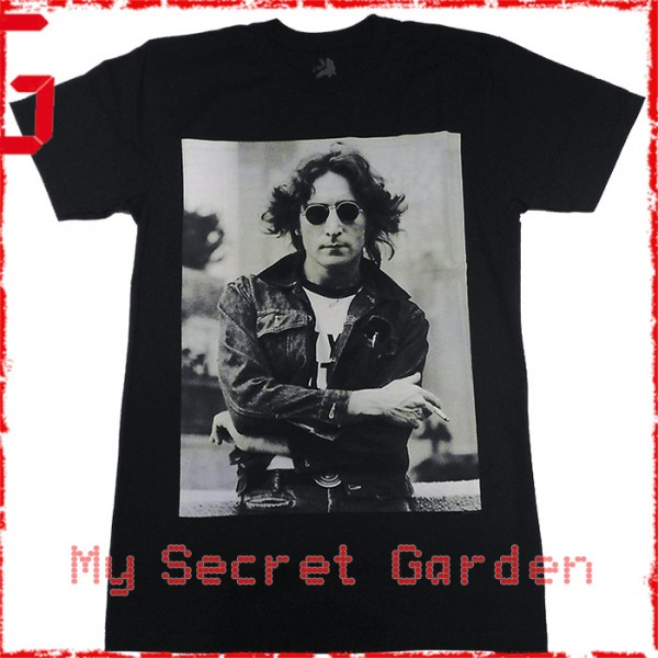 John Lennon - NYC Official Fitted Jersey T Shirt ( Men S )    READY TO SHIP  from Hong Kong    65a86fb972d