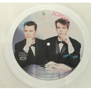 "Pet Shop Boys / Freddie Mercury - It's A Sin / The Great Pretender 1987 Hong Kong Version 12"" Single  Clear Vinyl ***READY TO SHIP from Hong Kong***"