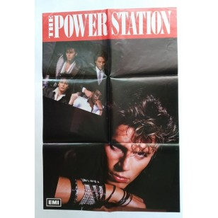 The Power Station ‎- Same Title Album 1985 Hong Kong Vinyl LP ***READY TO SHIP from Hong Kong***