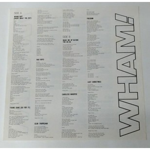 Wham! - The Final 1986 Hong Kong Version 2 x Vinyl LP Gatefold ***READY TO SHIP from Hong Kong***
