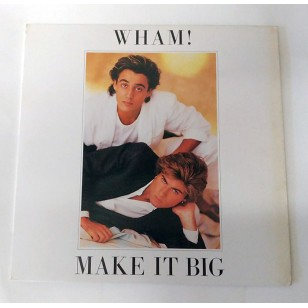 Wham! - Make It Big 1984 Hong Kong Version Vinyl LP ***READY TO SHIP from Hong Kong***