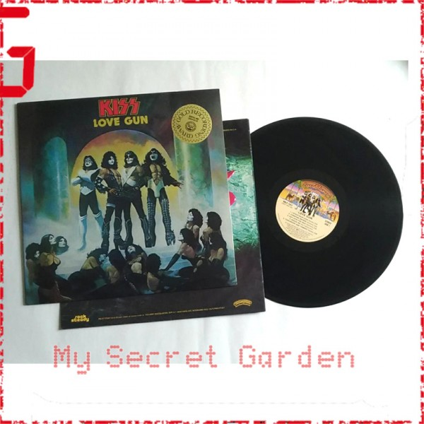 Kiss ‎- Love Gun 1977 Hong Kong Version Vinyl LP ***READY TO SHIP from Hong Kong***