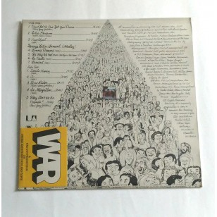 War ‎- Why Can't We Be Friends? 1975 Hong Kong Version Vinyl LP ***READY TO SHIP from Hong Kong***