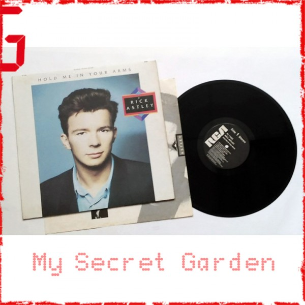 Rick Astley ‎- Hold Me In Your Arms 1988 UK Vinyl LP ***READY TO SHIP from Hong Kong***