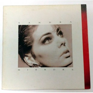 Sandra ‎- Mirrors 1986 Hong Kong Version Vinyl LP ***READY TO SHIP from Hong Kong***
