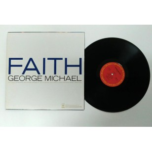 George Michael - Faith 1987 Hong Kong Version Vinyl LP ***READY TO SHIP from Hong Kong***