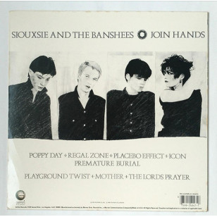Siouxsie And The Banshees - Join Hands 1983 USA Version ( Reissue ) Vinyl LP ***READY TO SHIP from Hong Kong***