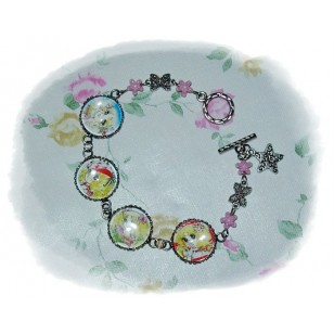 Candy Candy キャンディ・キャンディ Candice White Ardlay anime Cabochon Bracelet