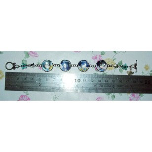 Black Rock Shooter Mato Kuroi anime Cabochon Bracelet