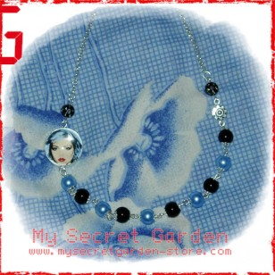 Andy Warhol - Blondie Debby Harry Cabochon Necklace