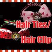 Hair Ties Bobbles Bracelet / Hair Clip