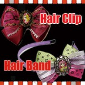 Hair Bows ( Hair Clip / Hair Band )