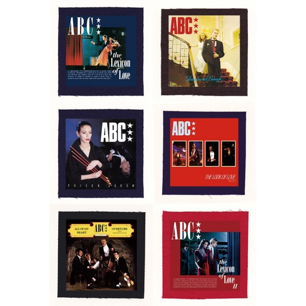 ABC - The Lexicon Of Love Album Cloth Patch or Magnet Set