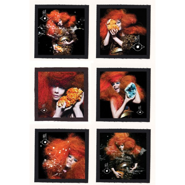 Bjork - Biophilia Cloth Patch or Magnet Set