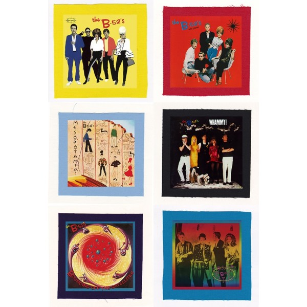 The B-52's - Wild Planet, Whammy Album Cloth Patch or Magnet Set