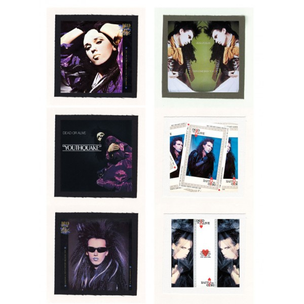 Dead Or Alive - Youthquake Cloth Patch or Magnet Set