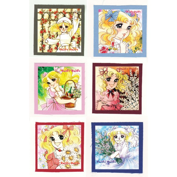 Candy Candy キャンディ・キャンディ anime Cloth Patch or Magnet Set 1