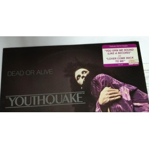 Dead Or Alive - Youthquake 1985 Hong Kong Vinyl LP ***READY TO SHIP from Hong Kong***