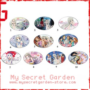 Anohana The Flower We Saw That day anime Oval Magnet Set