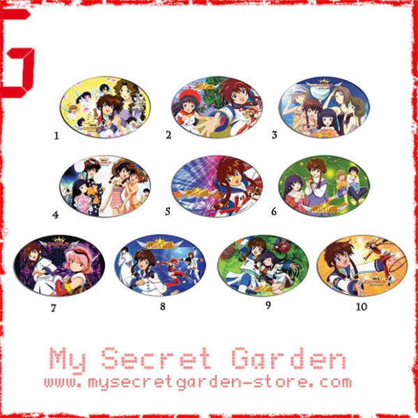 Angelic Layer  anime Oval Magnet Set