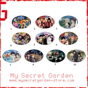 Blue Exorcist  ( Ao no Exorcist ) anime Oval Magnet Set