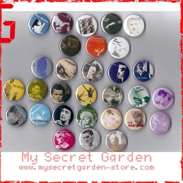 The Smiths - Album & Singles Pinback Button Badge Set 1 ( or Hair Ties /  4 4 cm Badge / Magnet / Keychain Set )