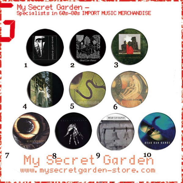 Dead Can Dance - Spleen And Ideal, The Serpent's Egg Album Pinback Button Badge Set ( or Hair Ties / 4.4 cm Badge / Magnet / Keychain Set )