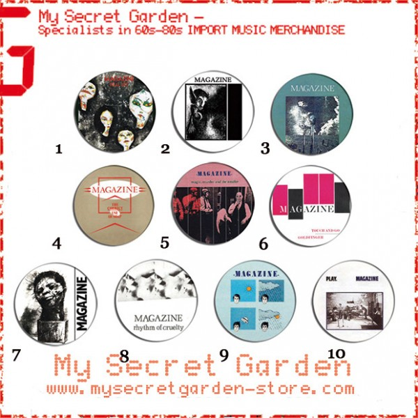 Magazine - Real Life, Secondhand Daylight Album Pinback Button Badge Set ( or Hair Ties / 4.4 cm Badge / Magnet / Keychain Set )