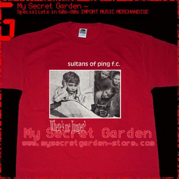 The Sultans of Ping FC - Where's Me Jumper T Shirt ( Men L ) ***READY TO SHIP from Hong Kong***