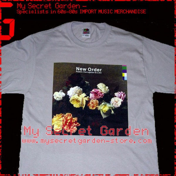 New Order - Power,Corruption And Lies T Shirt