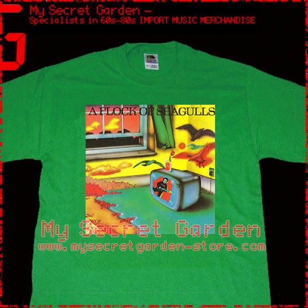 A Flock Of Seagulls - Same Title Album T Shirt