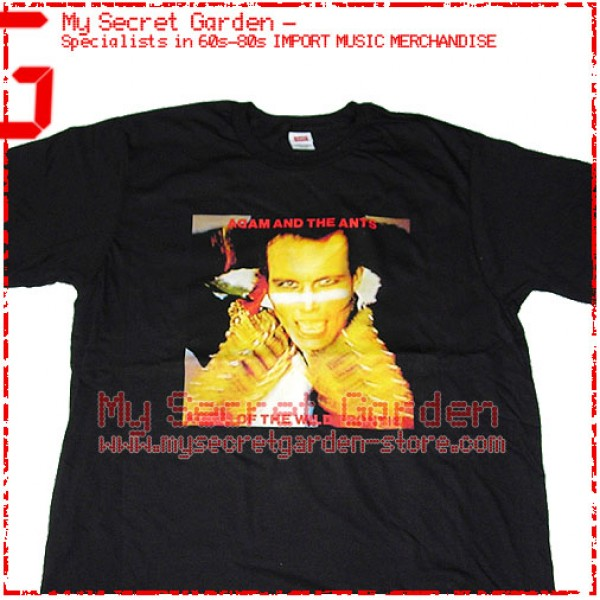 Adam And The Ants - Kings Of The Wild Frontier T Shirt