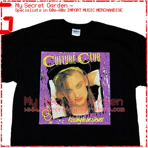 Culture Club - Kissing To Be Clever T Shirt