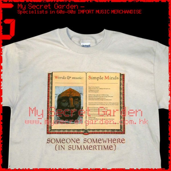 Simple Minds - Someone Somewhere ( In Summertime ) T Shirt