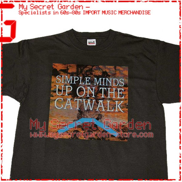 Simple Minds - Up On The Catwalk T Shirt
