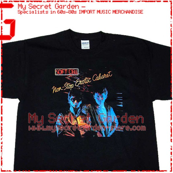 558a42f82 Soft Cell - Non-Stop Erotic Cabaret T Shirt