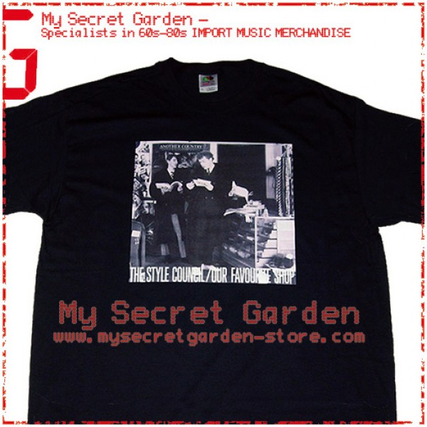 The Style Council - Our Favourite Shop T Shirt