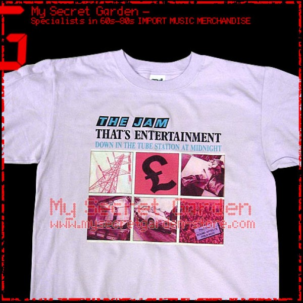 The Jam - That's Entertainment T Shirt