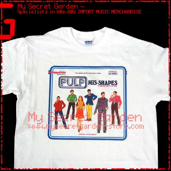 Pulp -  Mis Shapes T Shirt