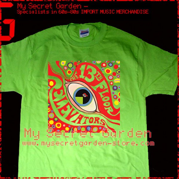 the 13th floor elevators the psychedelic sounds of t shirt